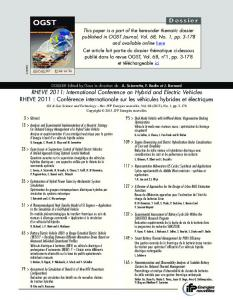 Download this article in PDF format - Oil & Gas Science and