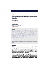 Download this article in PDF format - Rising Powers in Global ...