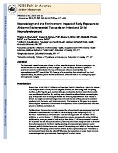 Download this document in PDF format - CCCEH.org