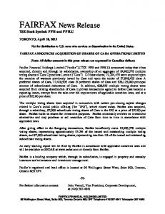 Download this Press Release (PDF 72 KB)