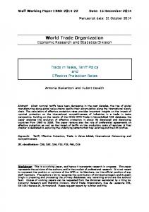 Download - World Trade Organization