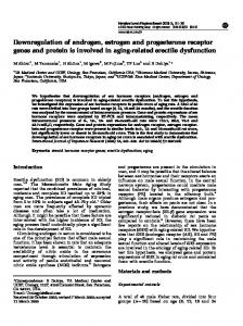 Downregulation of androgen, estrogen and progesterone receptor ...
