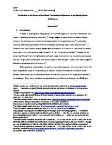 DRAFT 78 Antitrust Law Journal ____ (2012) (forthcoming) The ...