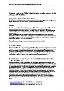 Draft Chapters in the Guideline for correct approach to ...