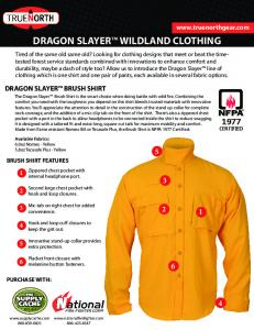 DRAGON SLAYER™ WILDLAND CLOTHING