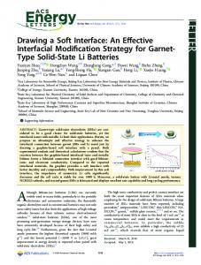 Drawing a Soft Interface: An Effective Interfacial Modification Strategy