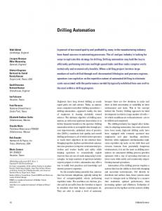 Drilling Automation - Schlumberger