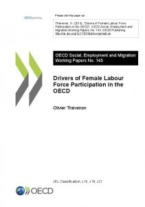 Drivers of Female Labour Force Participation in the OECD