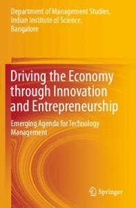 Driving the Economy through Innovation and ...