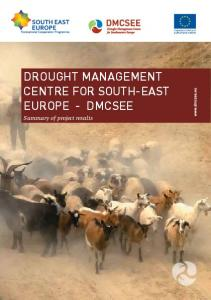 Drought ManageMent Centre for South-eaSt europe - DMCSee