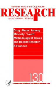Drug Abuse Among Minority Youth - Archives - National Institute on ...