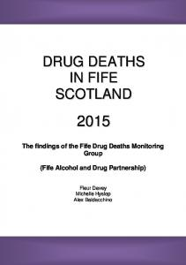 Drug Deaths in Fife Scotland 2015