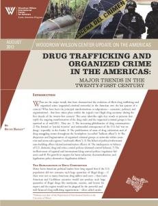 drug trafficking and organized crime in the americas - Wilson Center