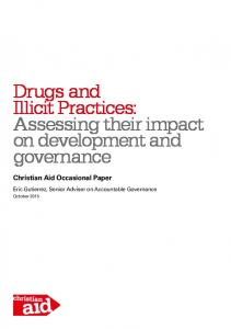 Drugs and Illicit Practices - Christian Aid