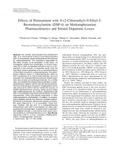 (DSP4) on Methamphetamine Pharmacokinetics ... - Wiley Online Library