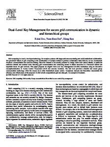 Dual-Level Key Management for secure grid communication in ...