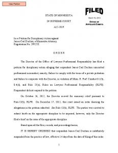 Duchon-A12-1819-03192013 - Lawyers Professional Responsibility