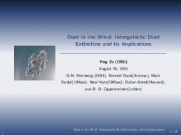 Dust in the Wind: Intergalactic Dust Extinction and its Implications