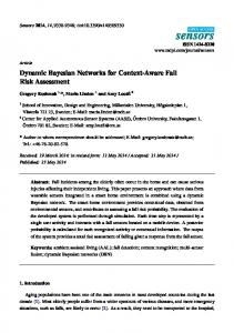 Dynamic Bayesian Networks for Context-Aware Fall Risk ... - MDPI