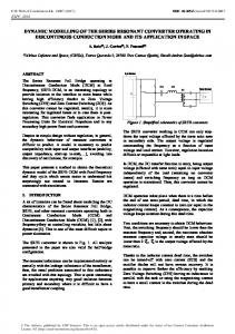 Dynamic Modelling of The Series Resonant Converter Operating in