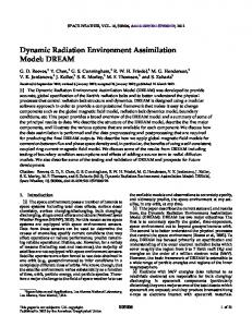 Dynamic Radiation Environment Assimilation ... - Wiley Online Library