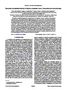 Dynamical and statistical behavior of discrete ... - APS Link Manager