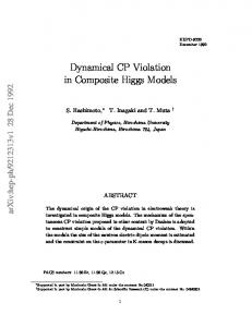 Dynamical CP Violation in Composite Higgs Models