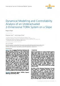 Dynamical Modelling and Controllability Analysis of an ... - IntechOpen