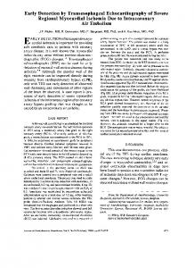 Early Detection by Transesophageal Echocardiography of Severe ...