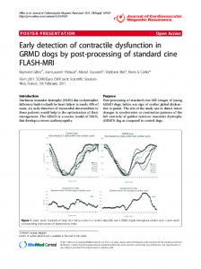 Early detection of contractile dysfunction in GRMD ... - Springer Link