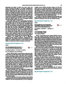 Early identification and antimicrobial susceptibility ...
