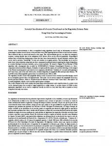 EARTH SCIENCES RESEARCH JOURNAL ... - SciELO Colombia