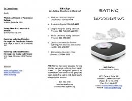 Eating Disorders 2013