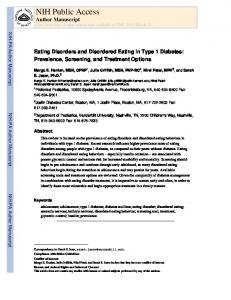 Eating Disorders and Disordered Eating in Type 1.pdf