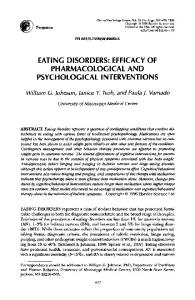 eating disorders - Science Direct