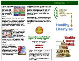 Eating - Healthy Lifestyles