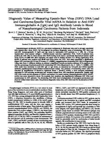 EBV - Journal of Clinical Microbiology - American Society for ...