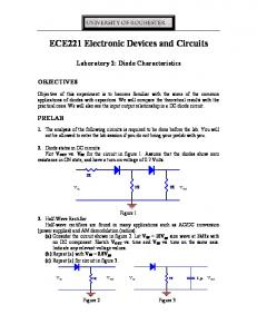 ECE221 Electronic Devices and Circuits