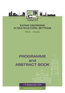 eced 2017 abstract book oral presentations