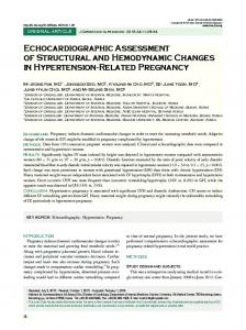 Echocardiographic Assessment of Structural and ... - Semantic Scholar