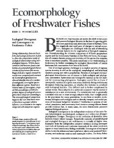 Ecological Divergence and Convergence in Freshwater ... - CiteSeerX