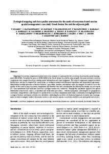 Ecological mapping and data quality assessment for the needs of ...