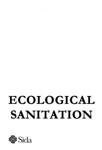 ECOLOGICAL SANITATION - EcoSanRes