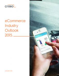 eCommerce Industry Outlook 2015.