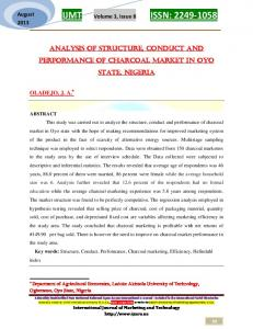 ECONOMIC ANALYSIS OF WOMENS' PARTICIPATION IN ...