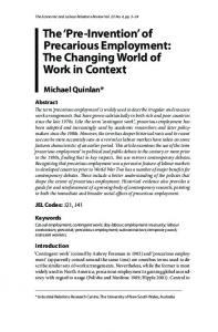 Economic and Labour Relations Review Vol. 23, No. 4