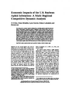 Economic Impacts of the US Soybean Aphid ... - AgEcon Search