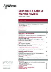 Economic & Labour Market Review - Office for National Statistics