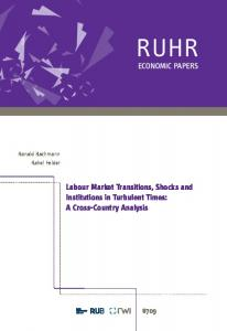 ECONOMIC PAPERS Labour Market Transitions, Shocks ... - RWI Essen