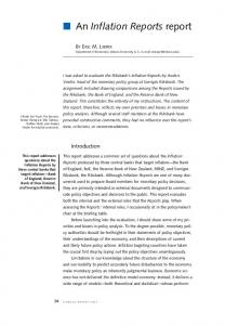 Economic Review 2003:3 article 4 An Inflation Reports report